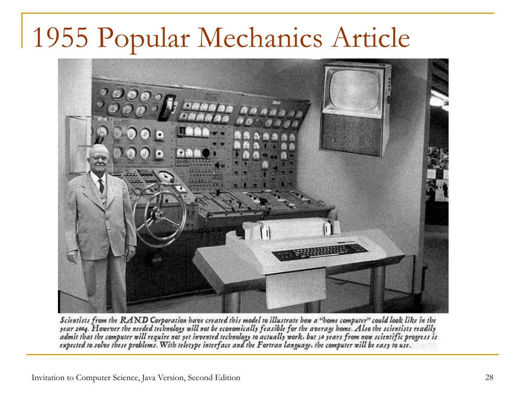 1955 Popular Mechanics Article