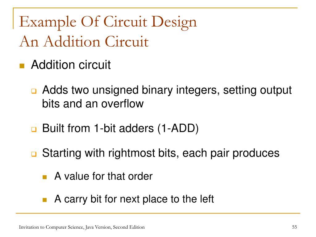 Example Of Circuit Design