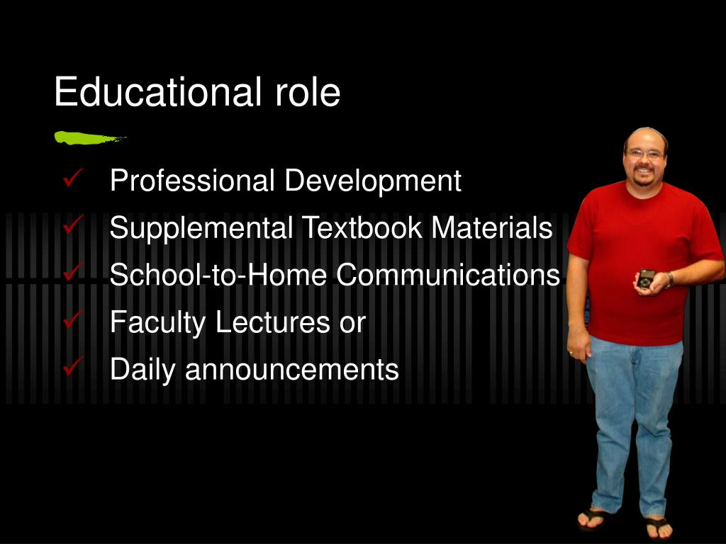 Educational role