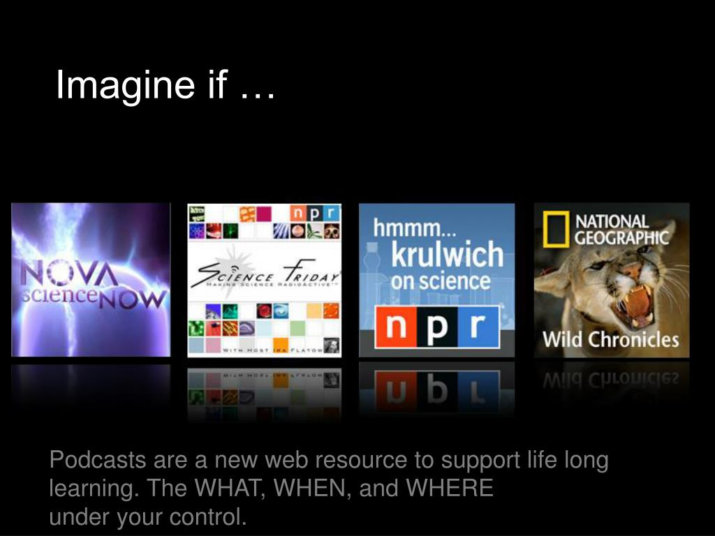 Imagine if …