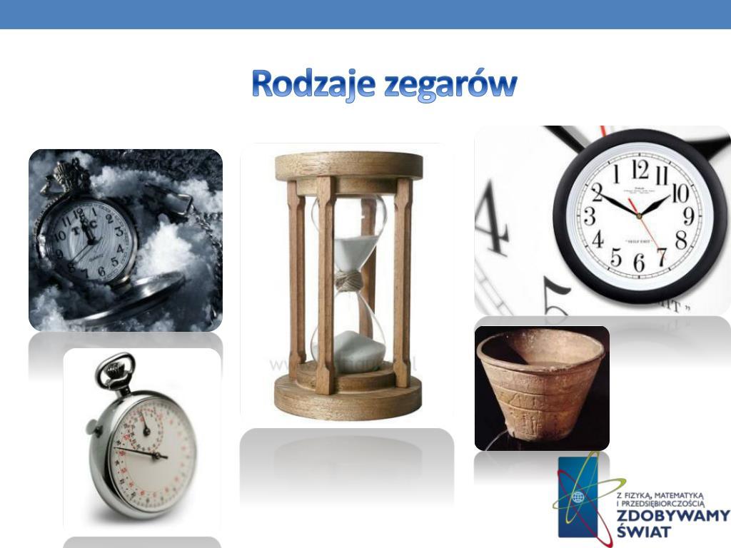 Rodzaje zegarów