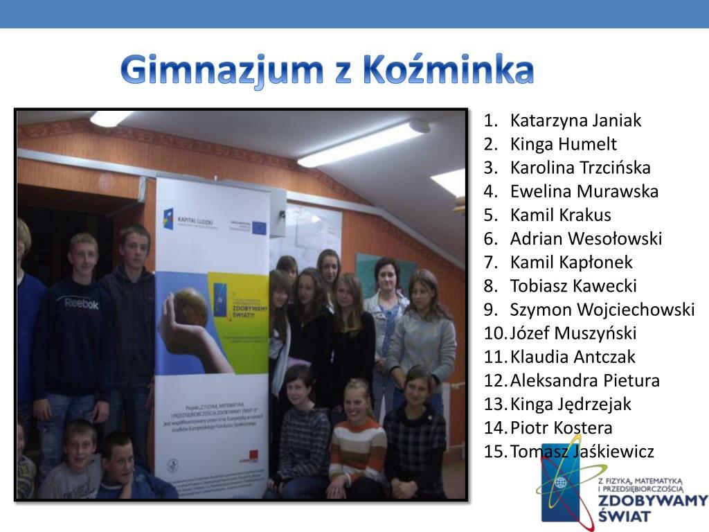 Gimnazjum z Koźminka