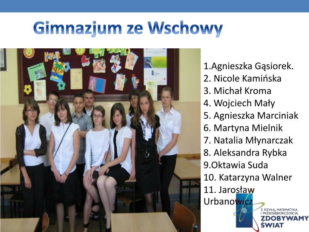 Gimnazjum ze Wschowy
