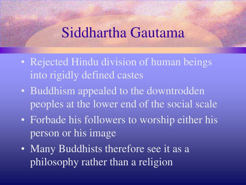 an overview of the brief history of buddhism and siddhartha guatamas work in india How does a float tank work a brief overview of indian history and spread the message of what would later be known as buddhism medieval culture in india.