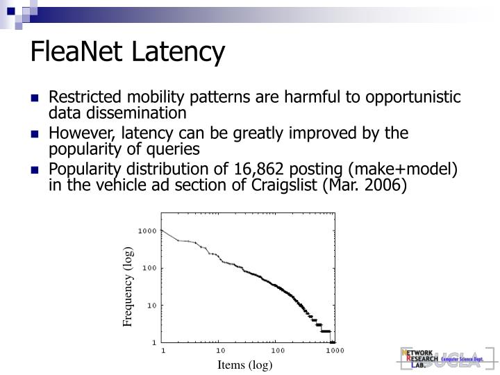 FleaNet Latency