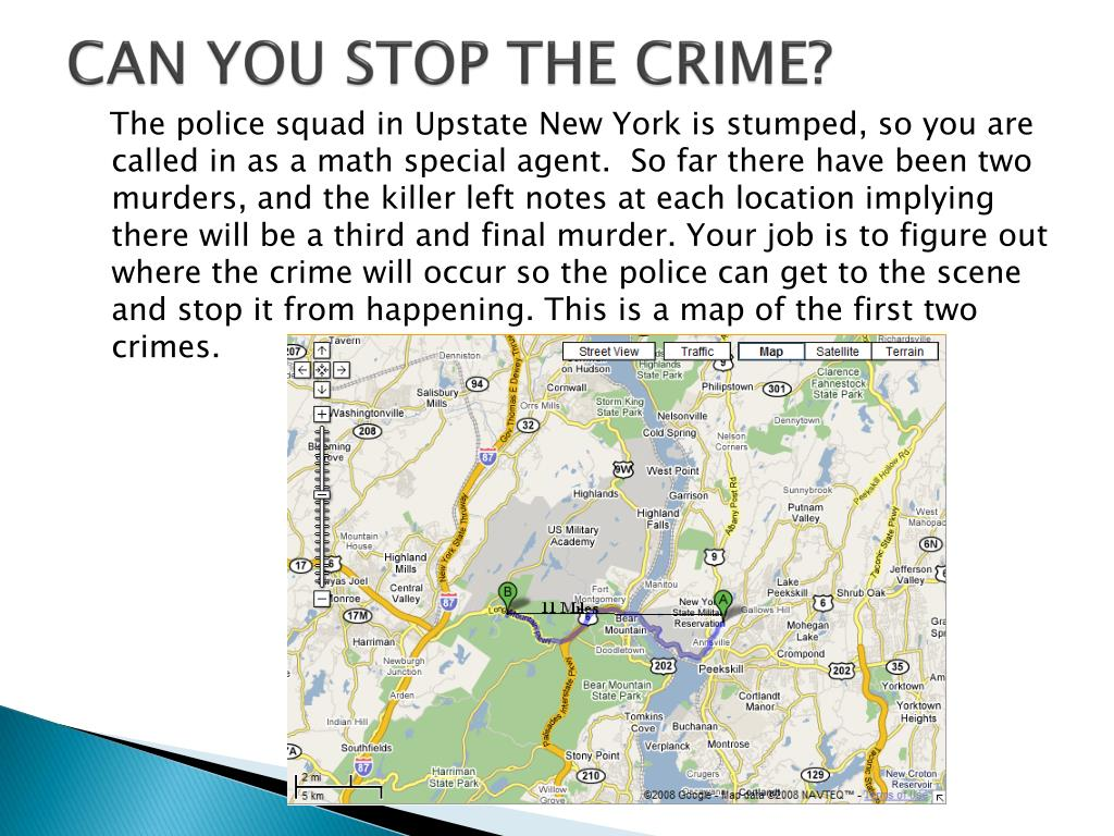 CAN YOU STOP THE CRIME?