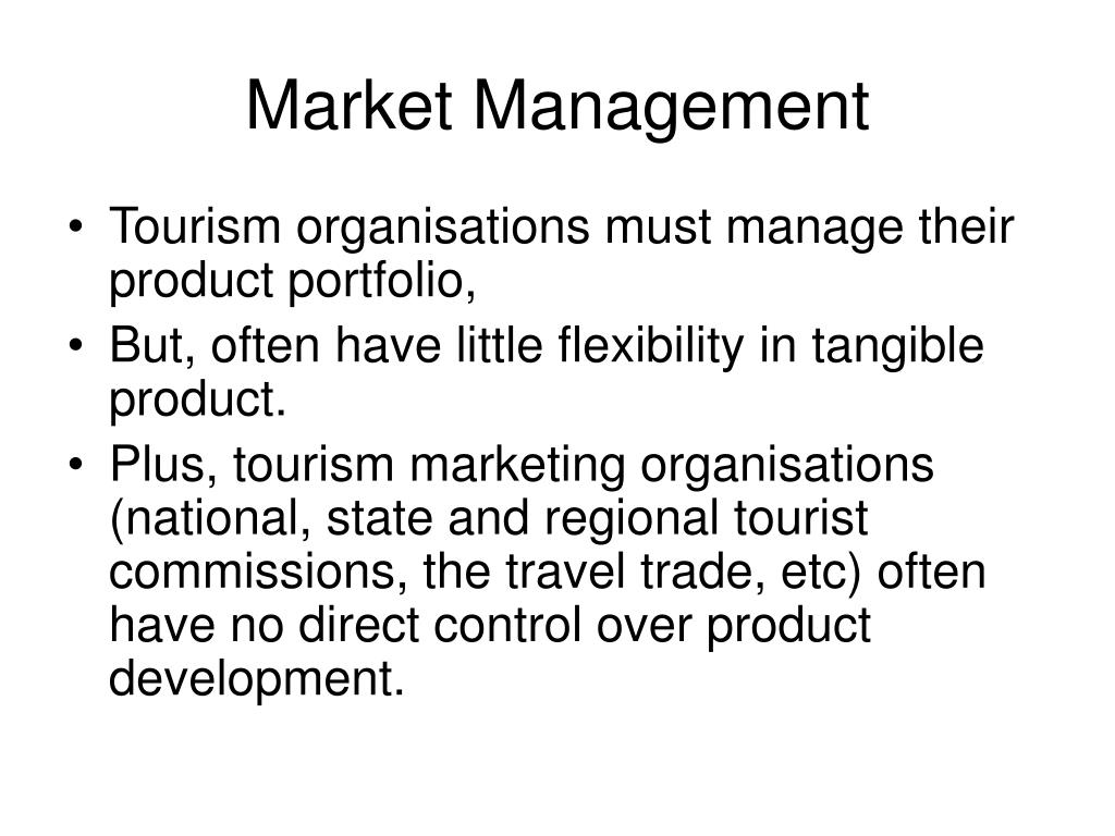 Market Management