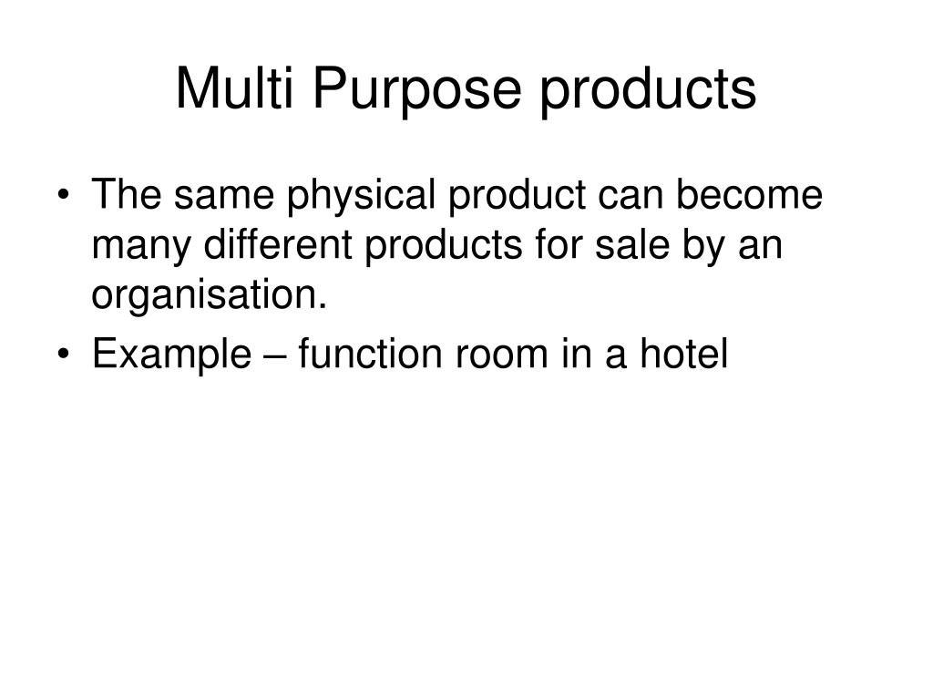 Multi Purpose products
