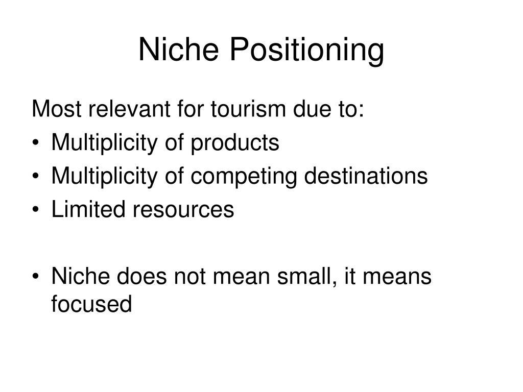 Niche Positioning