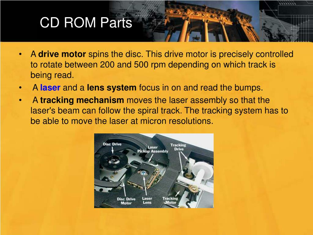 CD ROM Parts
