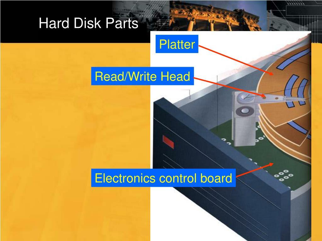 Hard Disk Parts