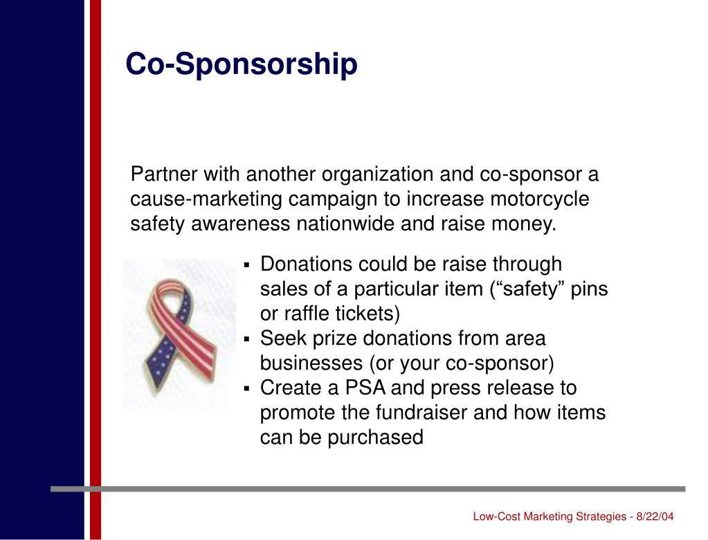 Co-Sponsorship