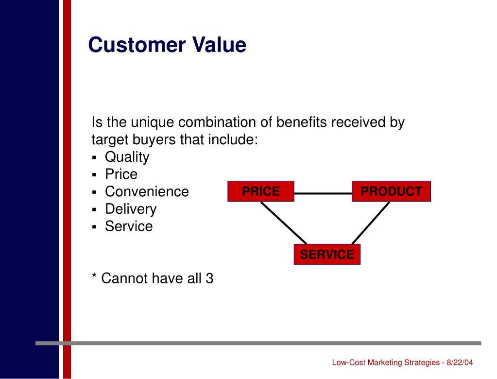Customer Value