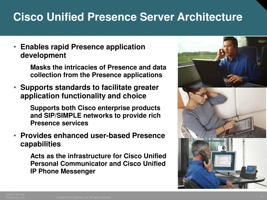 Cisco Unified Presence Server Architecture