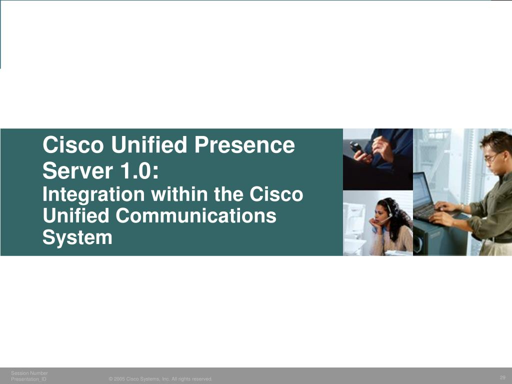 Cisco Unified Presence Server 1.0