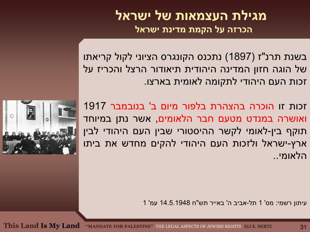 מגילת העצמאות של ישראל