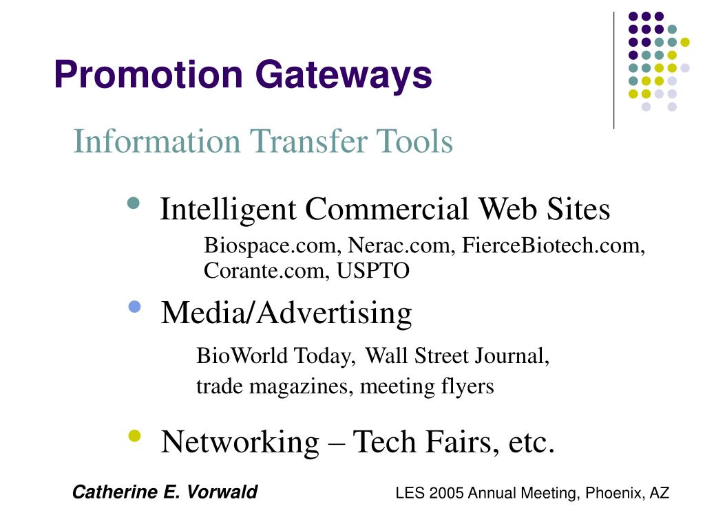 Promotion Gateways