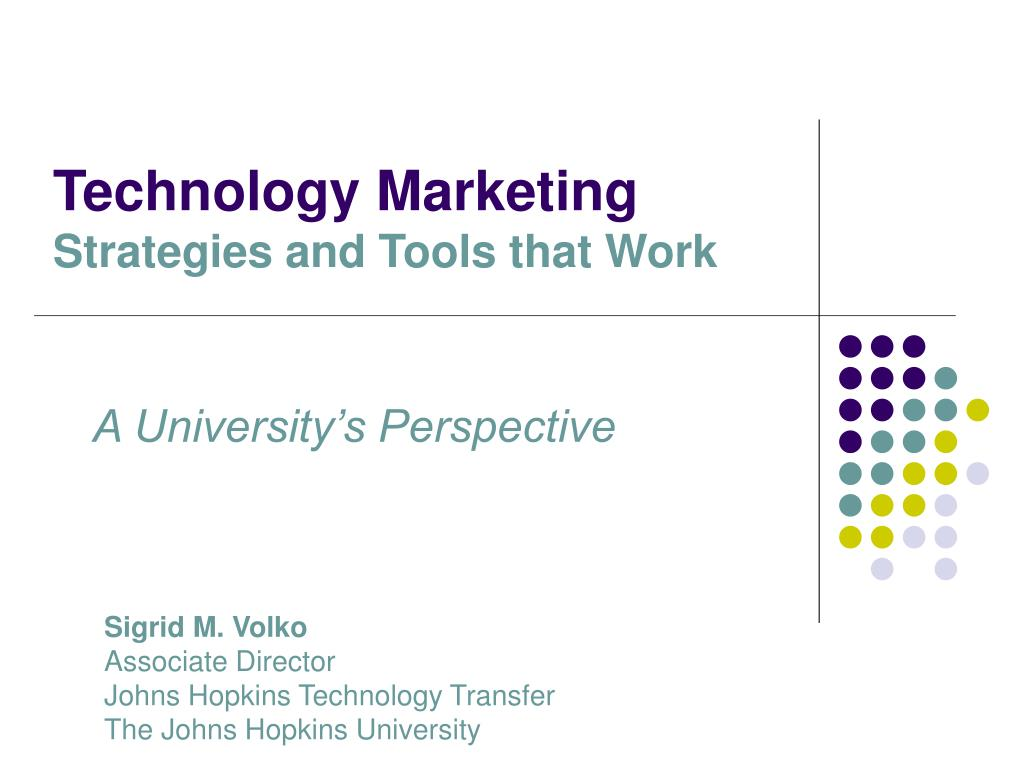 Technology Marketing