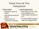partial views view enlargement