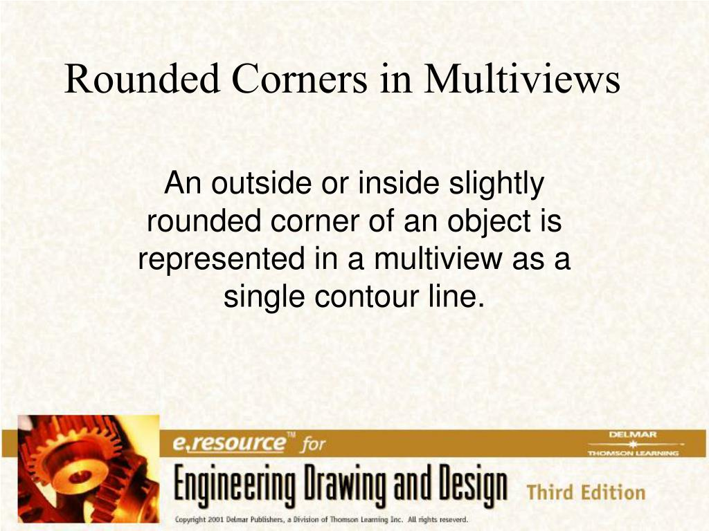 Rounded Corners in Multiviews
