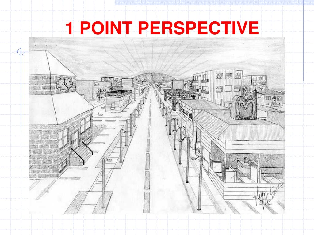 1 POINT PERSPECTIVE