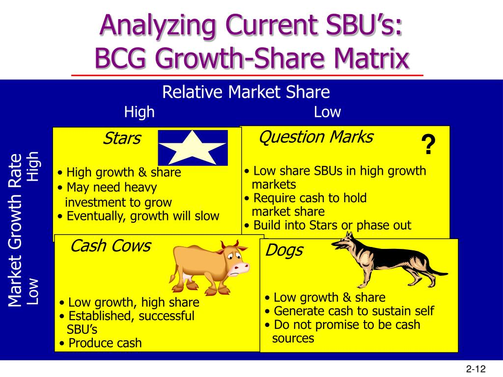 Analyzing Current SBU's:
