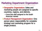 marketing department organization36