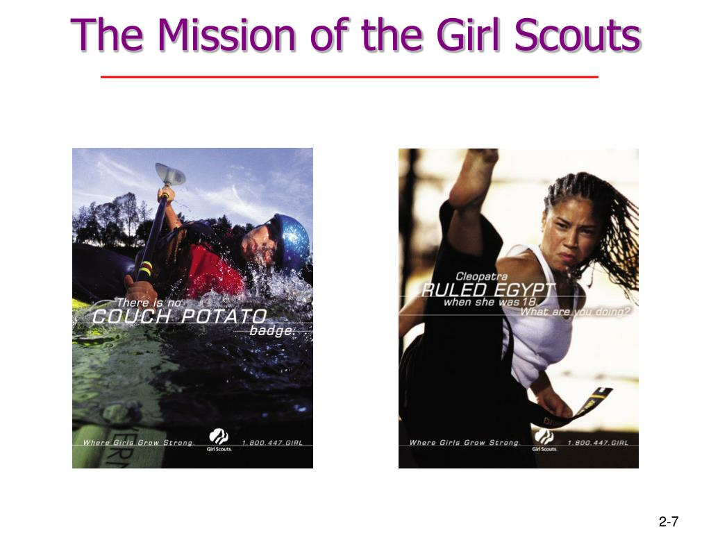 The Mission of the Girl Scouts