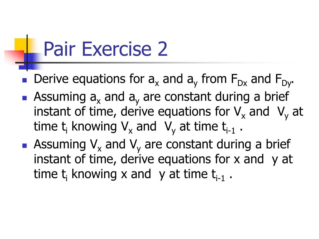 Pair Exercise 2