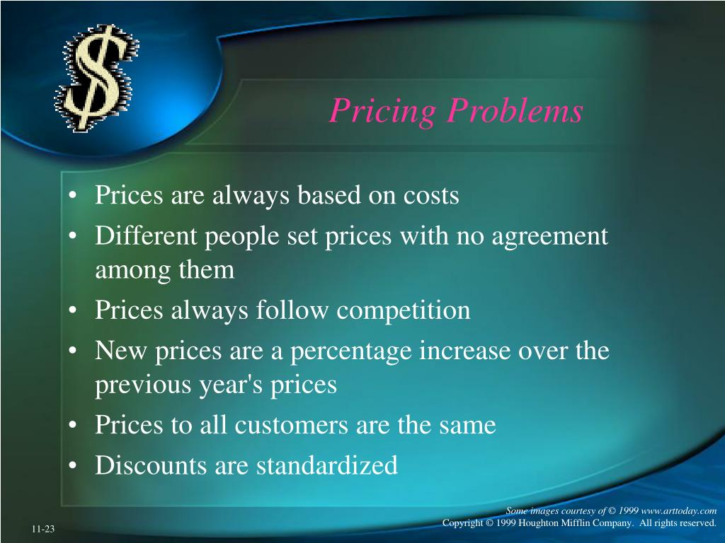 Pricing Problems