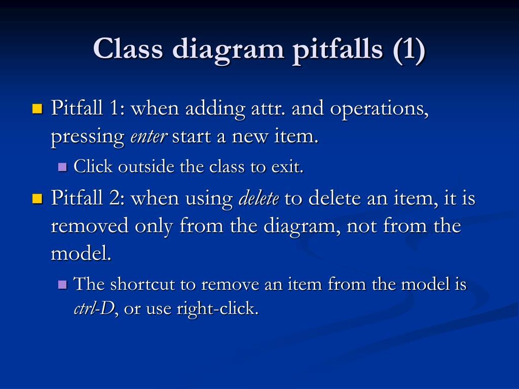Class diagram pitfalls (1)
