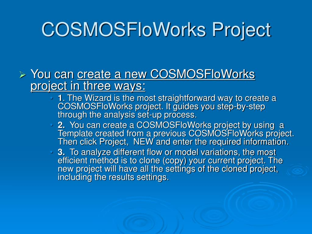 COSMOSFloWorks Project