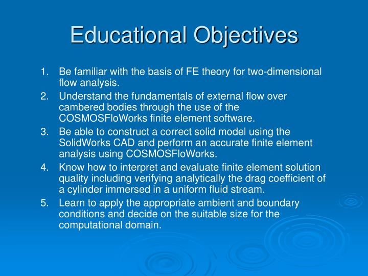 Educational objectives l.jpg