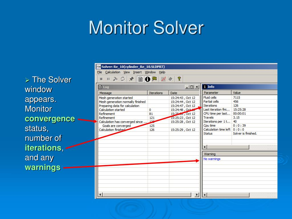 Monitor Solver