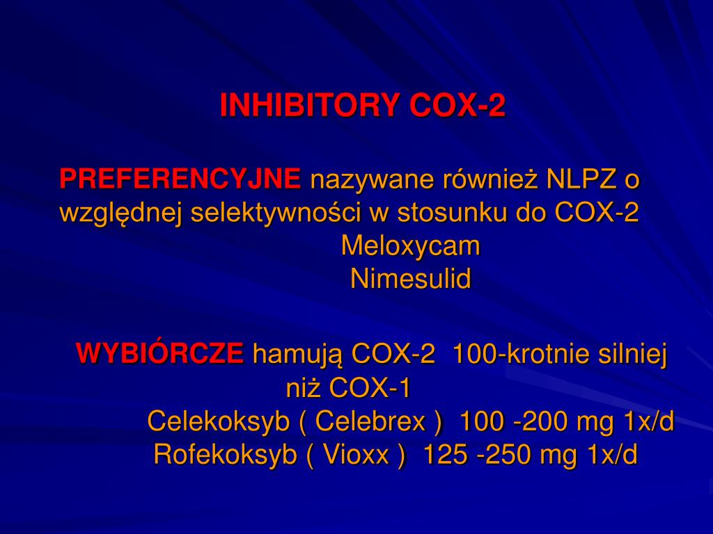 INHIBITORY COX-2