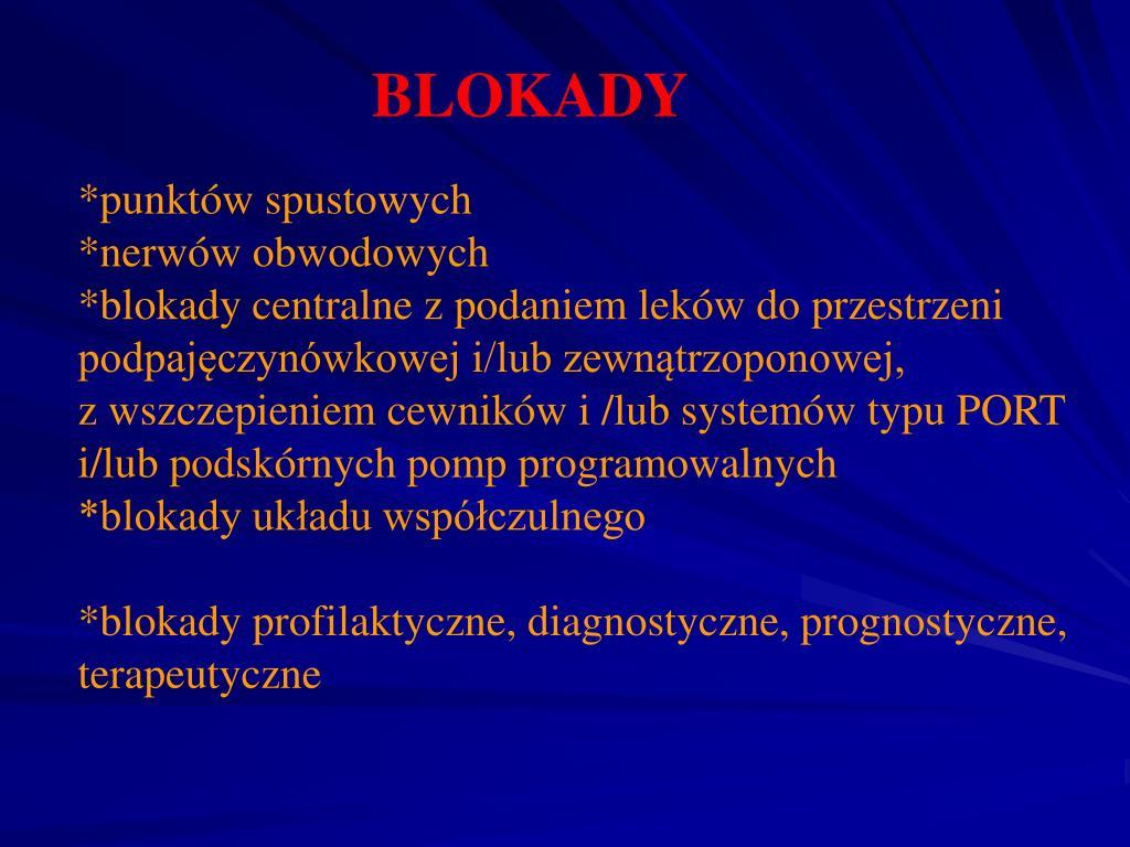 BLOKADY