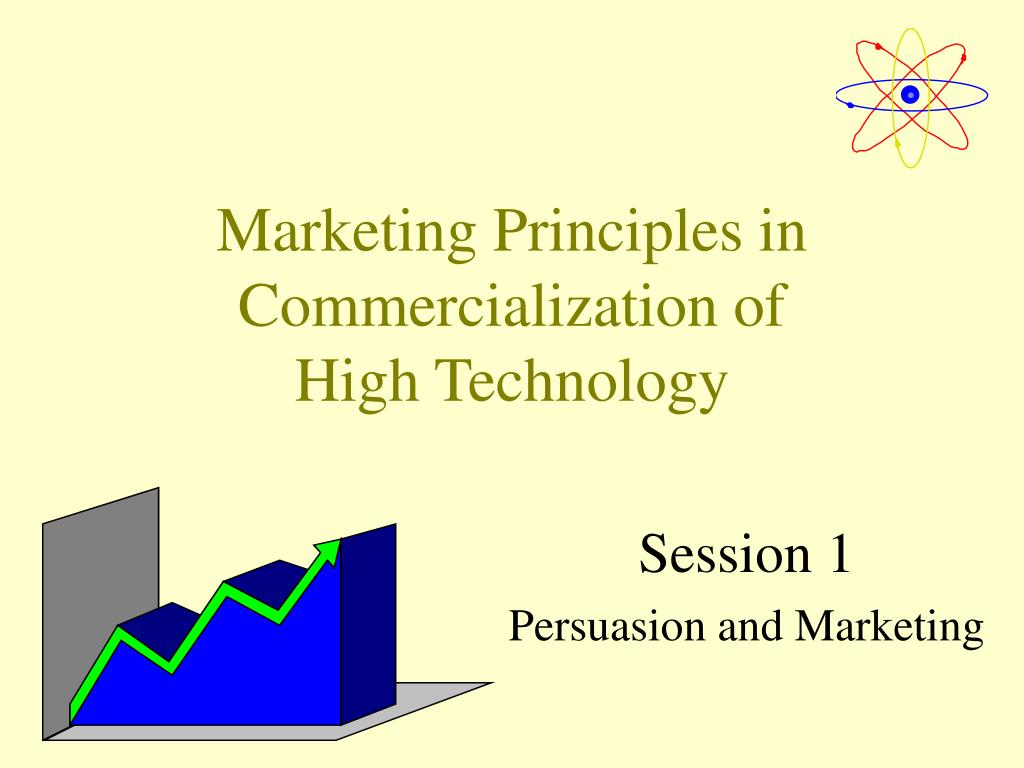 marketing principles in commercialization of high technology