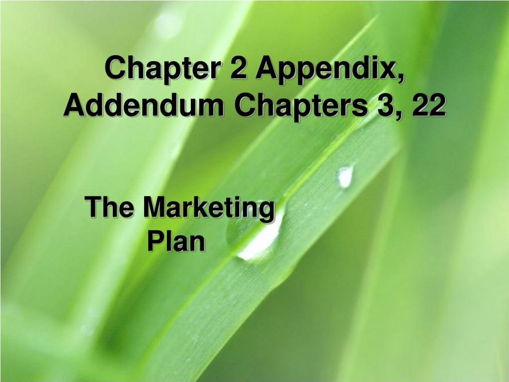 Chapter 2 Appendix,