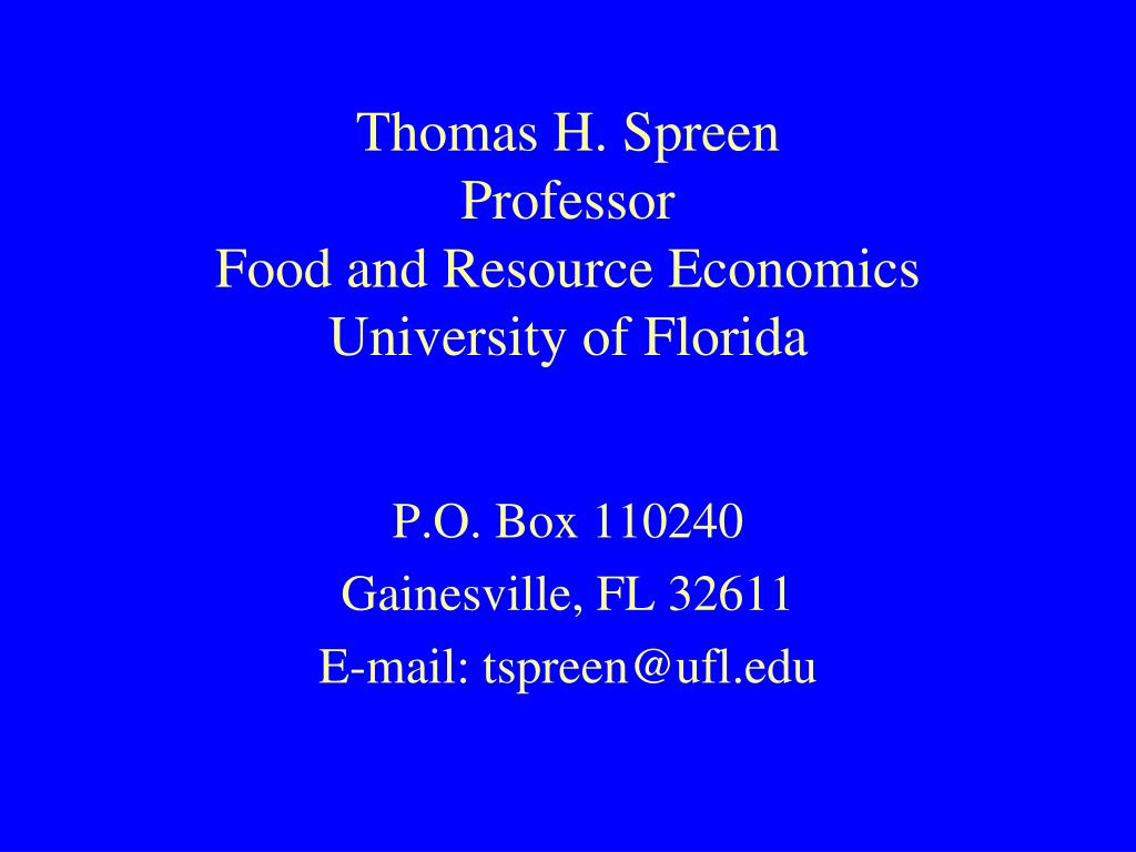 Thomas H. Spreen