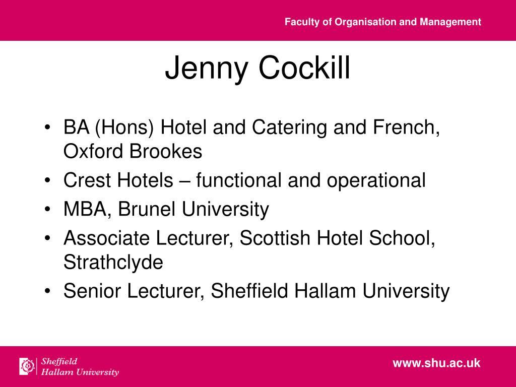 Jenny Cockill