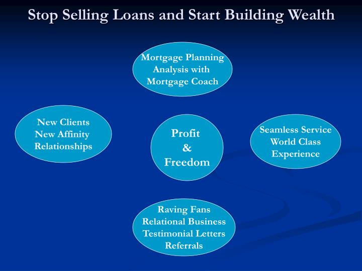Stop selling loans and start building wealth l.jpg