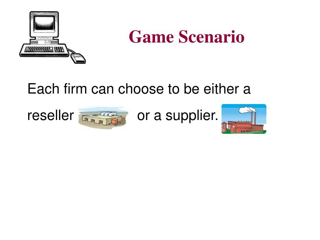 Game Scenario
