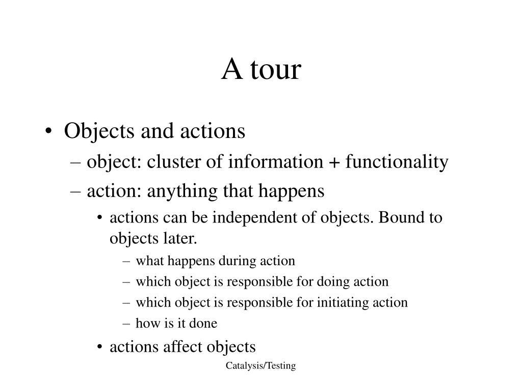 A tour