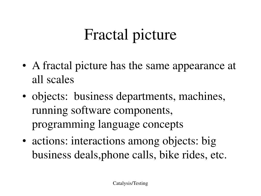 Fractal picture