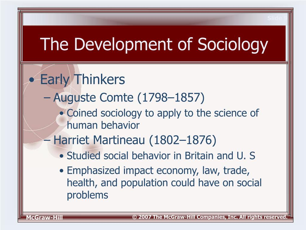 sociology and the development of human Social sciences & human services department offers a wide variety of programs   sciences base, including anthropology, psychology, political science, and  sociology  take up the study of anthropology, child development, criminal  justice,.