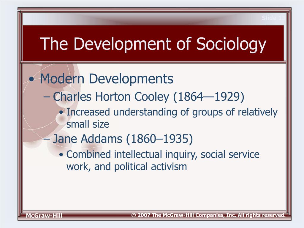 the emergence of sociology Describe the emergence of sociology • relate sociology with other social  sciences 11 introduction sociology is relatively a new science as a  discipline.