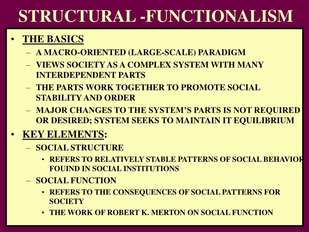 Structure functionalism and pornography