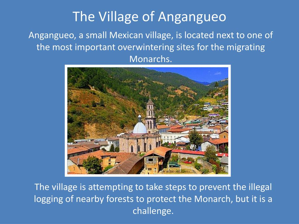 The Village of Angangueo