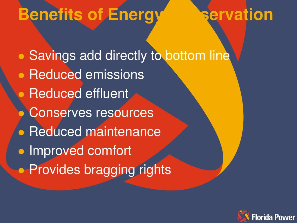 Benefits of Energy Conservation