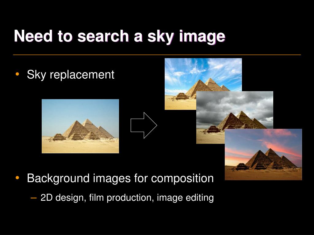 Need to search a sky image